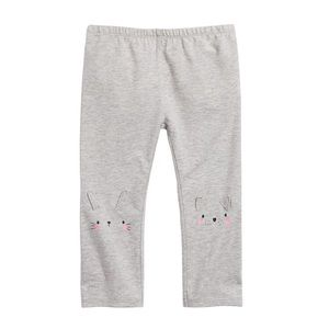 NWT First Impressions Gray Ears Leggings 18mo